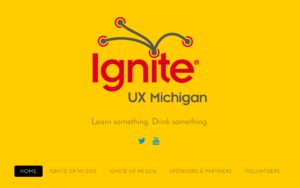 Ignite UX Michigan website