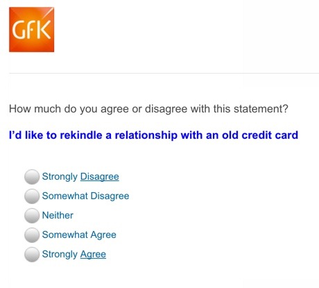 """I'd like to rekindle a relationship with an old credit card"""